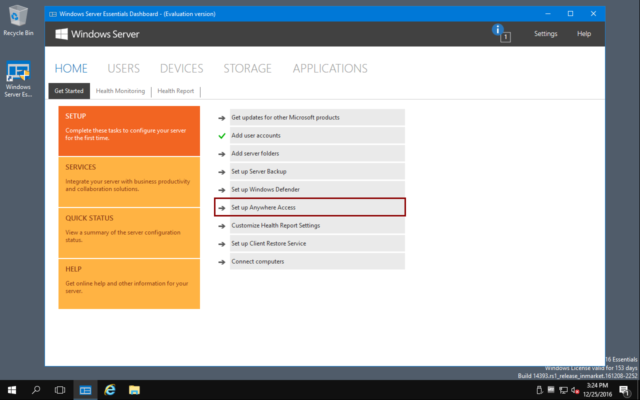 Setup Access Anywhere With A Ssl Certificate On Windows Server