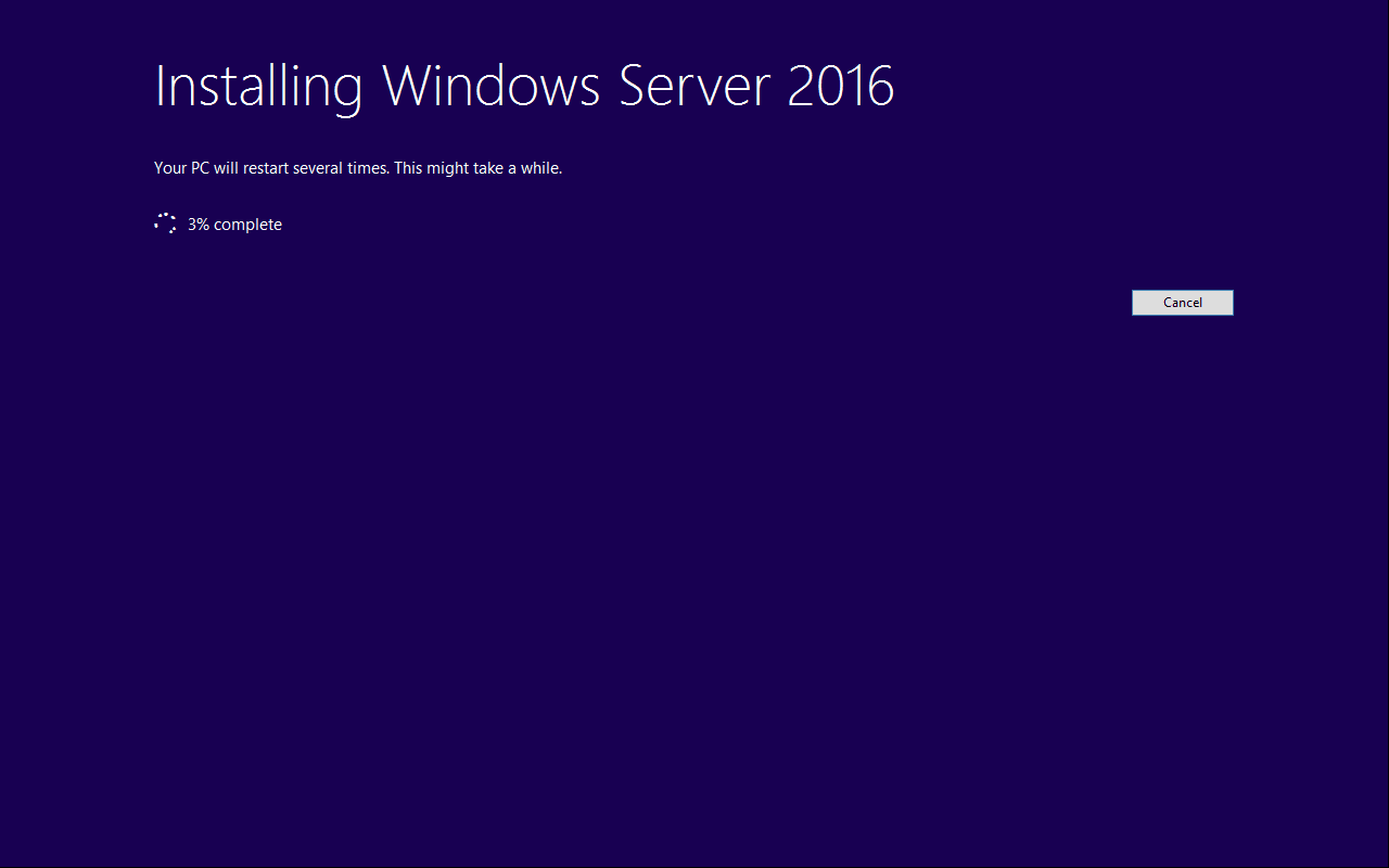 How to do an in-place upgrade of Windows Server Essentials 2012 R2 to Windows Server Essentials 2016 on the same hardware