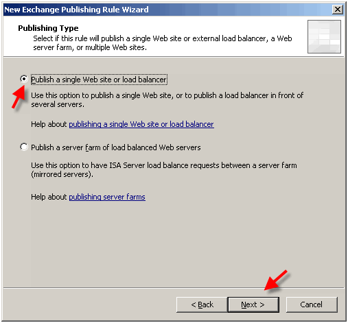 How to set up Autodiscovery for Outlook 2007 with ISA Server 2006